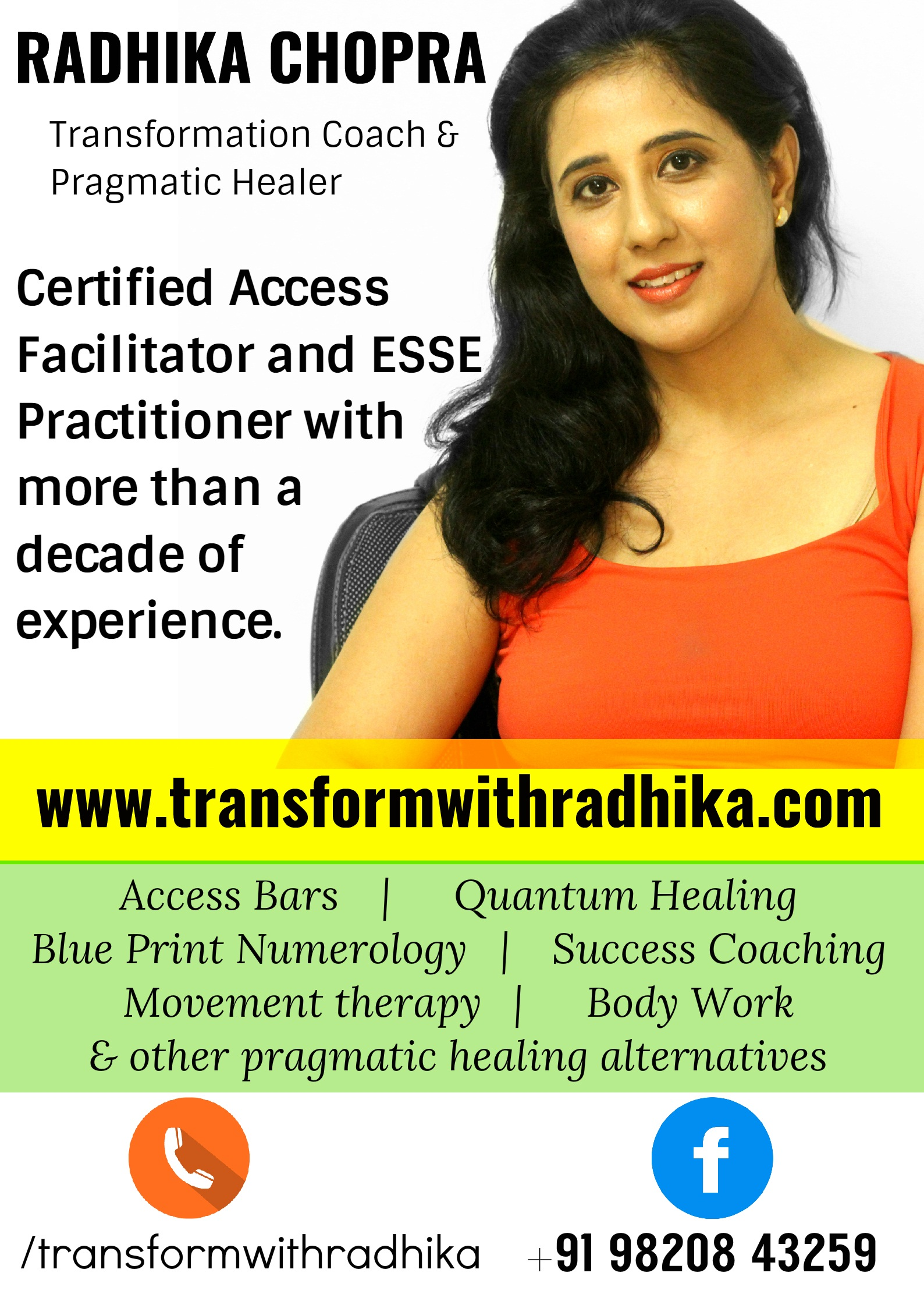 ms radhika chopra access consciousness certified facilitator profile radhika chopra