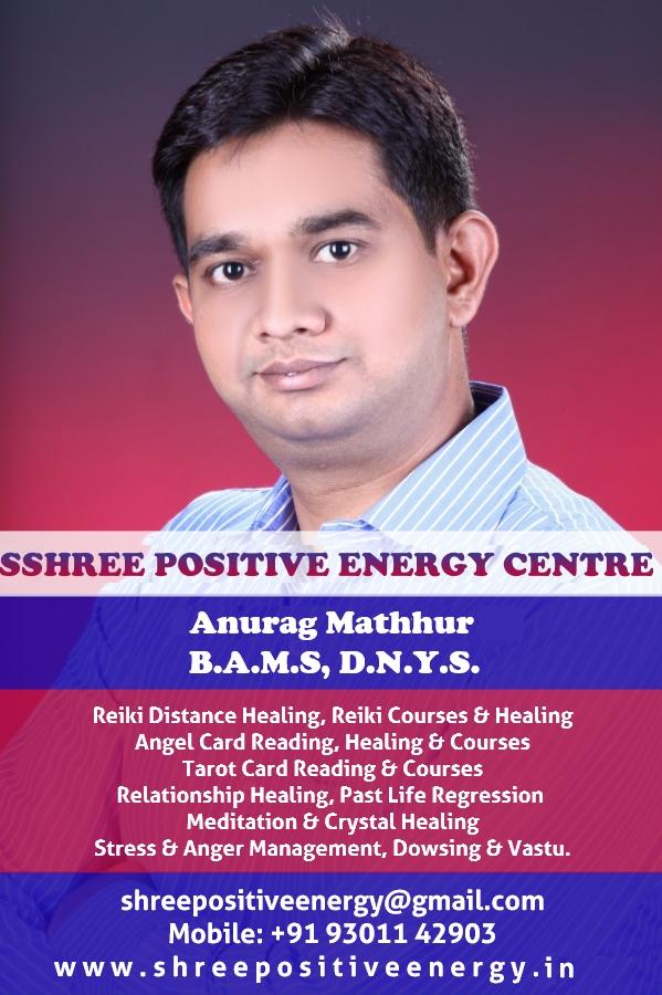 Dr  Anurag Mathur - Shri Positive Energy Center - Nagpur