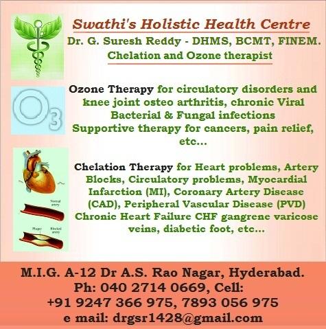 Swathi S Holistic Health Centre Dr G Suresh Reddy