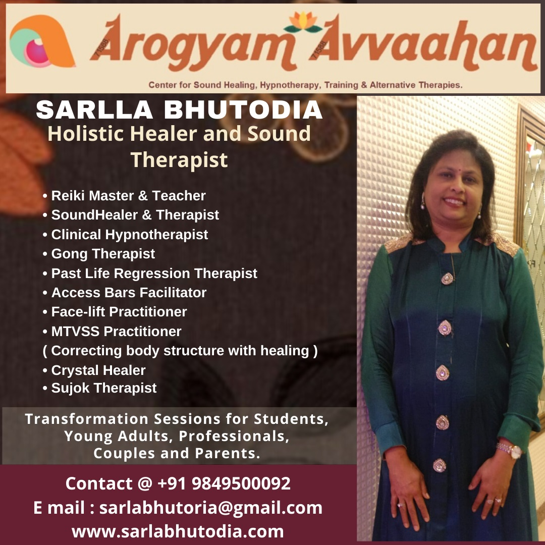 Sarlla Bhutodia - Reiki Master & Teacher, Sound Healer