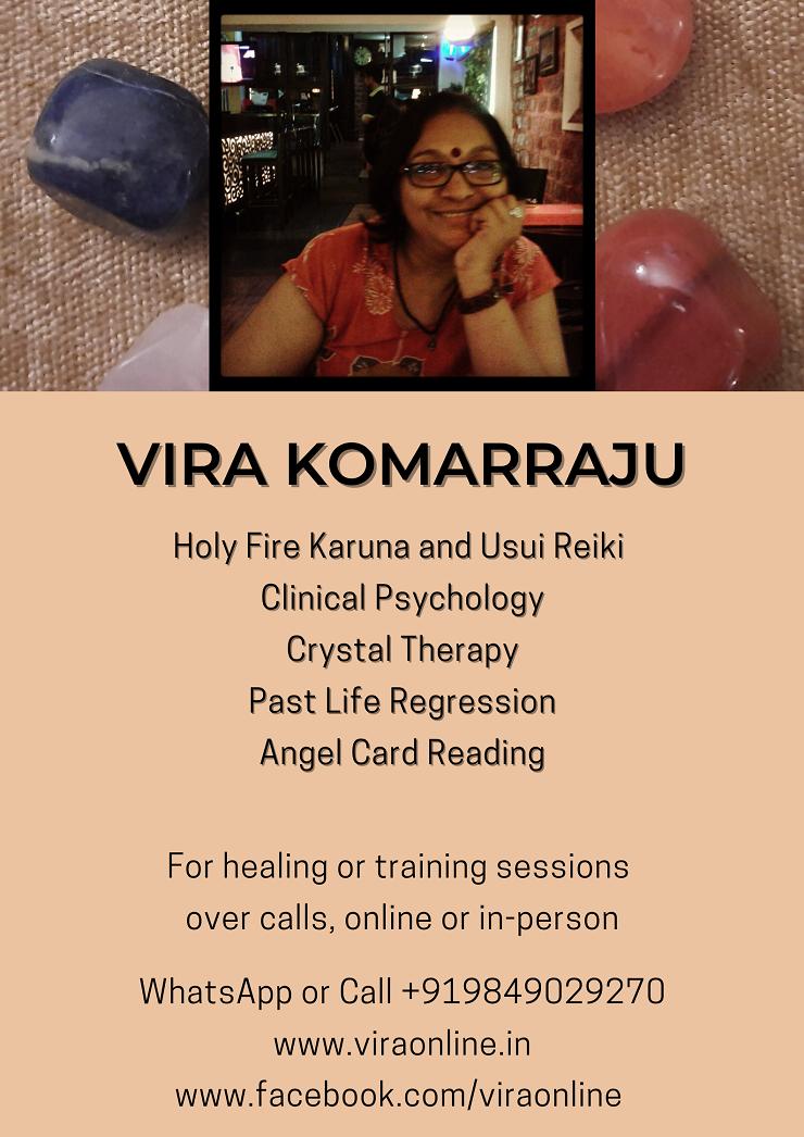Reiki Urja - Holistic & Clairvoyant Healing Space - Vira ...
