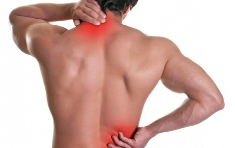 image of a man with lower back pain